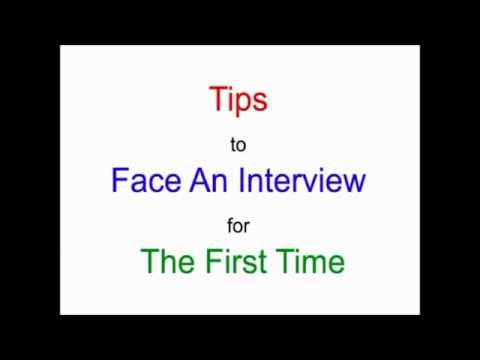William Almonte - How to Face An Interview For The First Time