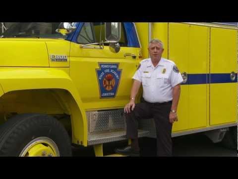 Ed Mann greets the first responders - EKT Interactive