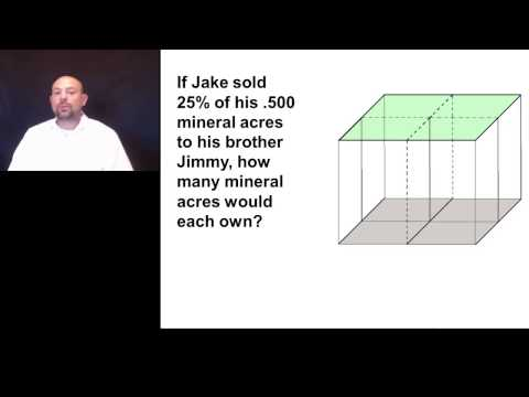 Calculating Net Mineral Ownership