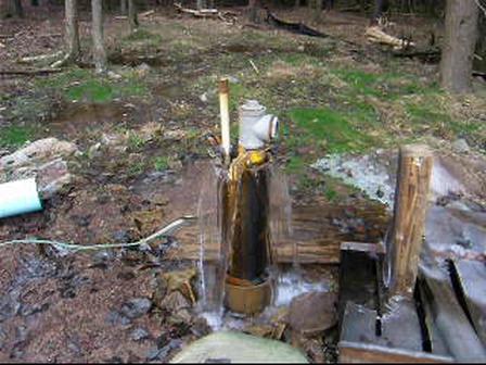 Flowing Artesian Well