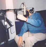 Jimmy in vocalist booth   ~
