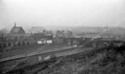 Harringay Station and South Harringay from Hog's Back 1956