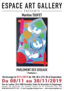 Affiche Martine TOUFET