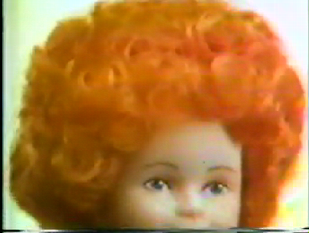 Commercial for movie Annie doll