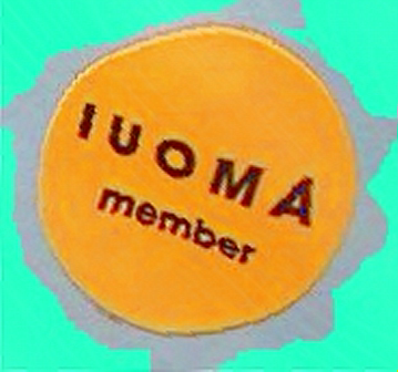 IUOMA Sticker