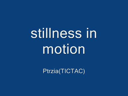stillness.in.motion
