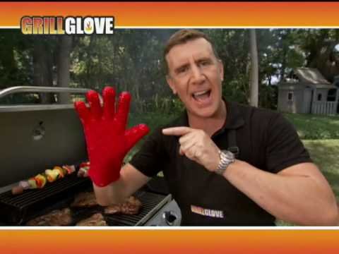 Grab Steaks Right off the Grill with Grill Glove!