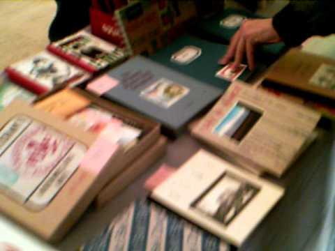Redfox Press at NYC Artist Book Fair - November 2010
