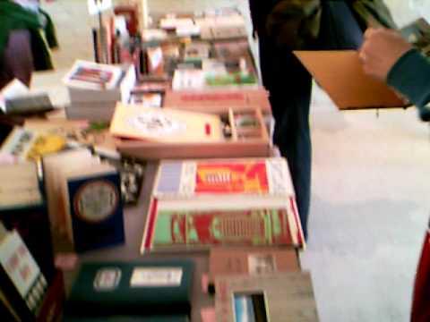 Redfox Press at NYC Artist Book Fair - November 2010 - Part 2