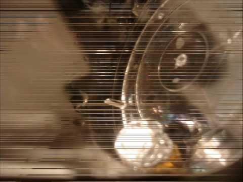 "FLUXRUS video-installation History of flight of one silver ball art-group ""Belka and Strelka"""
