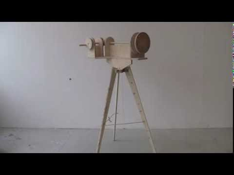 Party Popper Gatling Gun Prototype No. 2