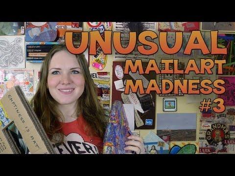 'Unusual' Mail Art - MEGA HAUL!