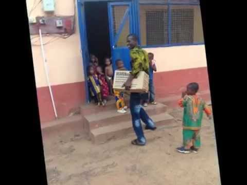 Gaf Donate Cloths to Tamale Children's Home Support By Tyler Wood (USA)