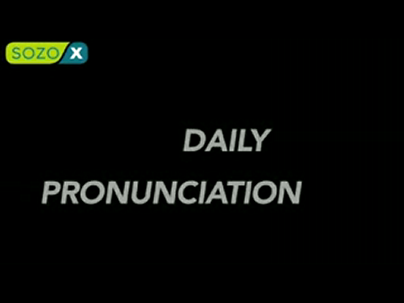 Daily Pronunciation - Learn A New English Word Every day