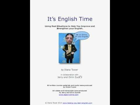 "Coming Soon!  ""It's English Time"": English Course"