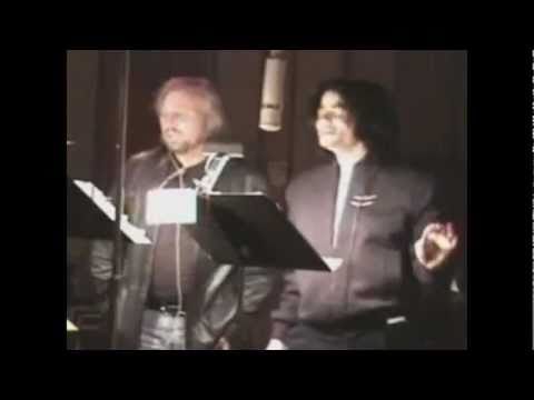 Michael Jackson And Barry Gibb - All In Your Name (Music Video) (Full Song) (HD)