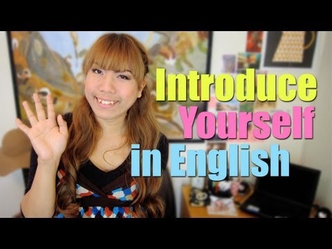 How to introduce yourself in English (Different situations) - How to Learn English EASILY