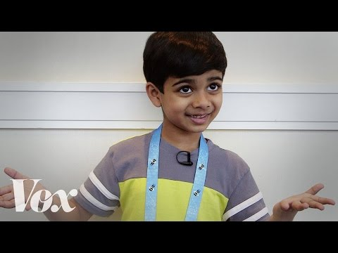 Meet this year's youngest Spelling Bee competitor