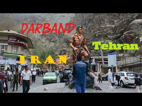 A short view of Darband - North of Tehran