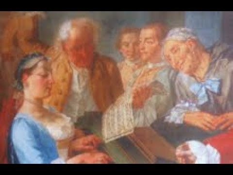 Scarlatti harpsichord sonata in Dm Longo 58