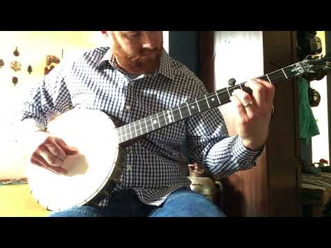 1890s Jas. Morrison banjo