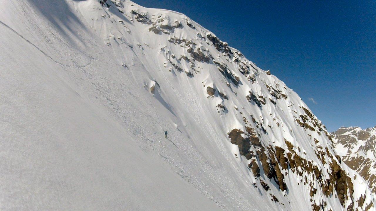 Pizzo Diei, North Face