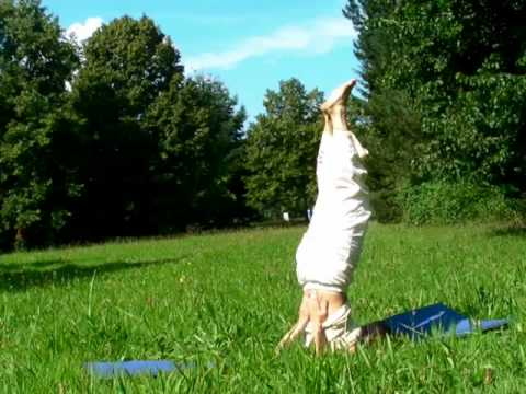 Yoga Demonstration with Carlotta - Part 1