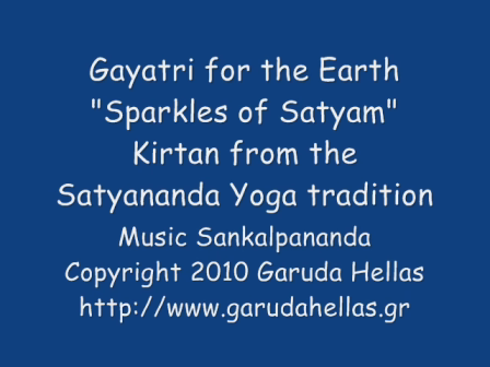 "Gayatri for the Earth, ""Sparkles of Satyam"""