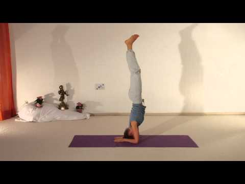 Child pose Headstand Scorpion