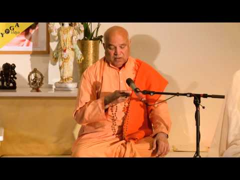 Meditation Video: Swami Yogaswarupananda leads a Japa with three  mantras
