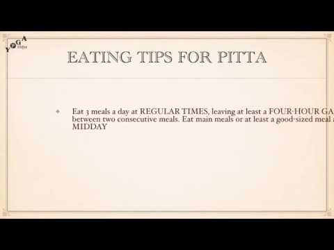 Dietary Guidelines for Doshas