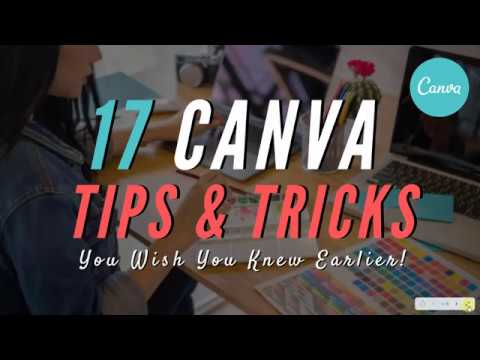 17 Advanced CANVA TIPS & TRICKS You Wish You Knew Earlier (Canva Tutorial For Beginners)