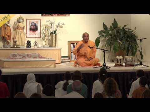 """Lecture - A story: """"The daughter of the minister"""" - Swamiji from Rishikesh"""