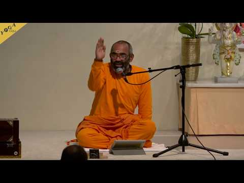 """Lecture: The meaning of the word """"Yoga"""" - Swami Tattvarupananda"""