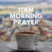 Morning Prayer with St Ann's Church on Instagram Live