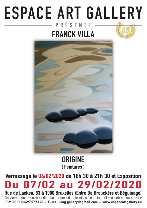 Affiche FRANCK VILLA