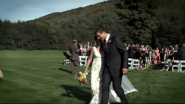 Wedding Ceremony Riverside Farm Vermont