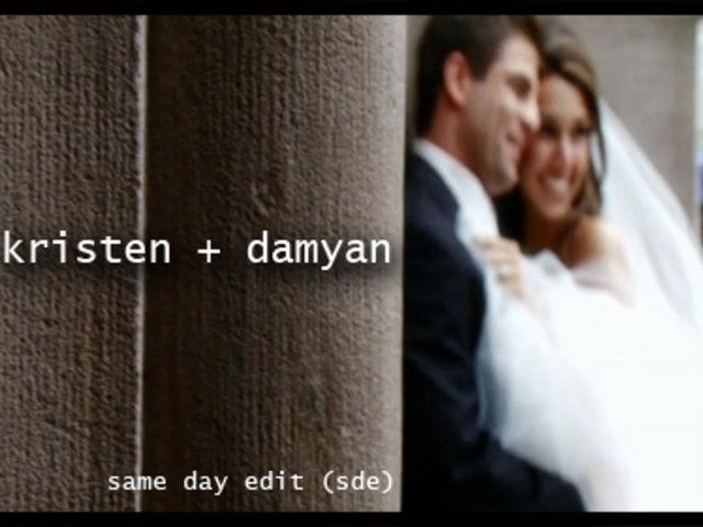 Same Day Edit for Kristen & Damyan by Abella Studios - http://www.abellastudios.com - 973-575-6633