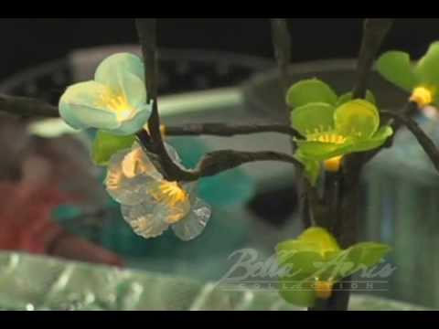 Lighted Flower Branches