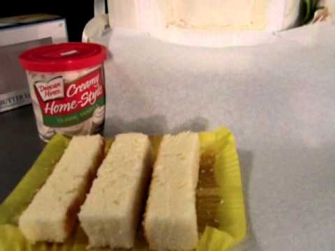 How to add real cake to your fake cake