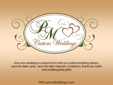Wedding Stamps by PM Custom Weddings