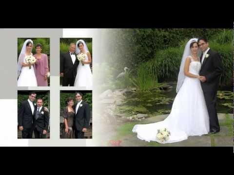 Woodcliff Manor Wedding Photos -Album Layout