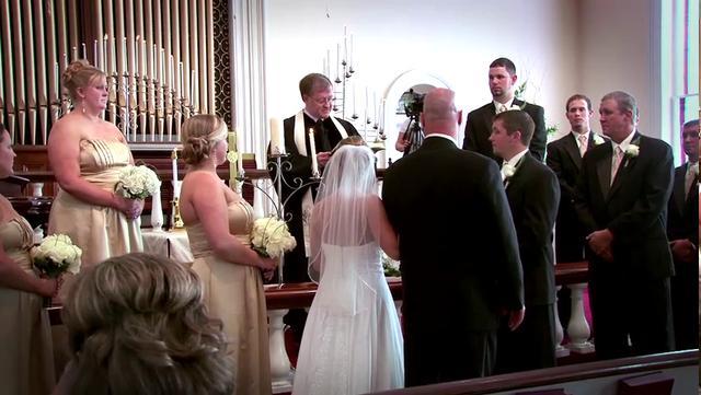 Kati + Casey - Wedding Ceremony, Covington GA