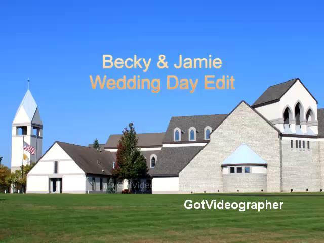 Becky & Jamie Wedding Day Edit