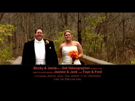 Becky & Jamie Wedding Highlights