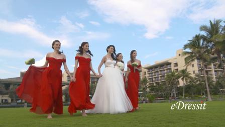 Bridesmaid Dress Shooting Hightlights