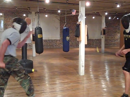 CMA Stick Sparring July 2010