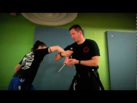 Clearwater Martial Arts - Knife Work demo