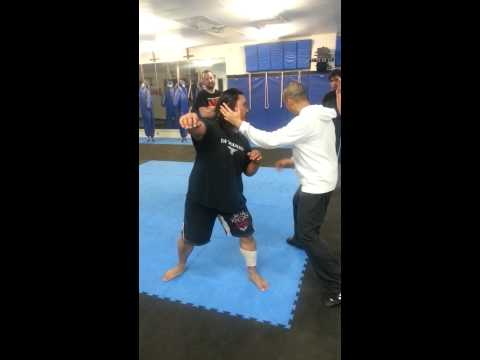 KOMBOKAN QUICK STRIKE AND TAKE DOWN TECHNIQUE VARIATION