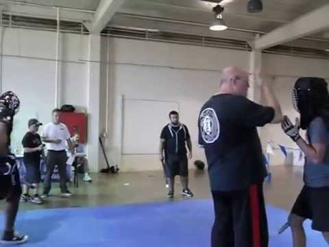 Cold Steel stick sparring 2015